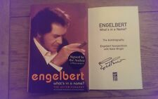 What's in a Name? The Autobiography SIGNED Engelbert Humperdinck HB Book 1st/1st