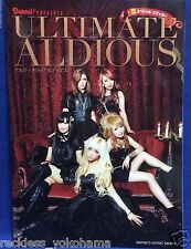 ULTIMATE ALDIOUS Photo Book Burrn Magazine Japan Brand New F/S