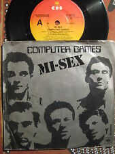 MI-SEX Computer Games ~ 1979 Oz Rock (Australia) Picture Sleeve 45 Single