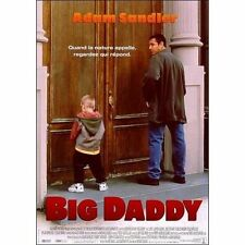 Affiche 120x160cm BIG DADDY 1999 Adam Sandler, Dylan Sprouse, Sprouse NEUVE