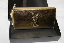 AUTH YSL SAINT LAURENT Belle De Jour Zip Around Wallet