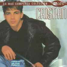 CD - Cristian Castro NEW La Mas Completa Coleccion 2 CD's FAST SHIPPING !