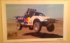 Ford Truck Red Bull/ Steve Barlow Rallye Racing Truck Poster! Own It! Rare Shot!
