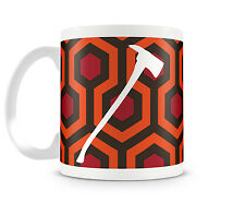The Shining - 11 oz Ceramic Coffee Cup Mug - Carpet Pattern Axe Stanley Kurbrick