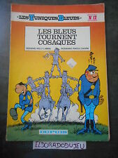 ELDORADODUJEU  BD SOUPLE LES TUNIQUES BLEUES 12 TOURNENT COSAQUES DUPUIS 1983 EM