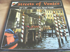 "NEW ""Streets of Venice"" 1000 Pc JIGSAW PUZZLE 23"" x 29"" by AppleStreet"