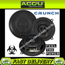 "CRUNCH AUDIO definizione dsx52 5,25 "" 160W auto a 2 vie PORTA Coassiale Altoparlanti Set"