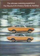 1974 Mazda RX4 Rotary Brochure wt12