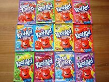 200 U PICK  FLAVORS Kool Aid Drink Mix LEMON LIME LEMONADE STRAWBERRY KIWI GRAPE