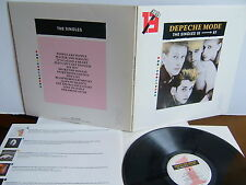 Depeche Mode - The Singles 81 - 85  MUTEL 1  UK LP  1985 MUTE