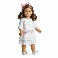 American Girl Doll Rebecca's White Lace Limited Edition Dress Outfit NEW!! NIB