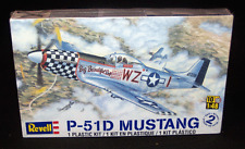 2011 Revell Model Kits WWII Warbird P-51D Mustang Fighter Plane 1:48 Scale
