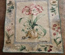 """Tapestry Wall Hanging Art Flower Cotton 25"""" x 33"""""""