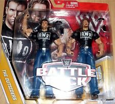 SCOTT HALL KEVIN NASN the Outsiders WWE nWo Mattel Battle Pack Series 44 Figures