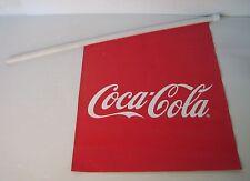 coca cola, flag, bandiera vintage, anni 80,