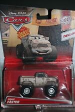 "DISNEY PIXAR CARS 2 ""CRAIG FASTER"" NEW IN PACKAGE, DELUXE MODEL, SHIP WORLDWIDE"