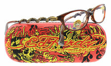 NEW Ed Hardy Eyeglasses EHO 710  HAZEL  51mm