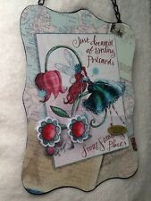 Magnet Board, Fairies  And Flowers, Metal With Magnets, Little Girls Dream