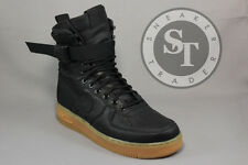 NIKE SPECIAL FIELD SF AIR FORCE ONE 1 AF1 859202-009 BLACK LIGHT BROWN SZ: 11