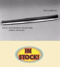 EMS 1940 Chevy Coupe and 2-Door Sedan Rocker Panel Left EMS 52L