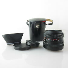 M42 Carl Zeiss Flektogon electric MC 2.4/35 Objektiv / lens mit hood und case