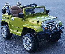 Cars4kidS. RIDE ON CAR FOR KIDS JEEP STYLE  BATTERY OPERATED R/C 12V