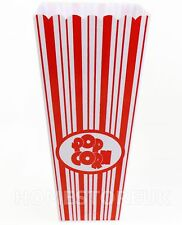 PLASTIC MADE 19,5 x10cm POPCORN Holder Contenitore Secchio MOVIE Pellicola TV partito 5515
