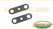 Land Rover Series 1, 2, 2A,  FW2 Lucas wiper motor seal escutcheon x2 outer