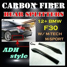 CARKING F30 POST // CARBON FIBER 12+ BMW F30 M-TECH M-SPORT ADH REAR SPLITTERS