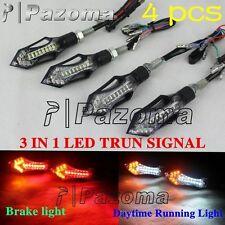 LED Blinker turn signal indicators with Daytime Running Light & Taillight E-Mark