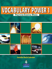 Vocabulary Power 1: Practicing Essential Words by Jennifer Recio Lebedev...