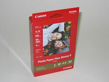 Genuine Canon 4x6 100 glossy photo paper PP201 PIXMA MP210 MP140 MP190 iP1800