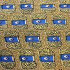 New African Cotton Print Fabric High Quality Bright & Bold Colors Sold Per Yard