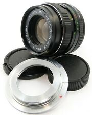 !NEW! MC HELIOS 44m-6 Russian Lens Canon EOS EF Mount 6D 7D 5D Mark II III 44-2