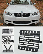 07-10 BMW E92/E93 3-Series Front Tow Hook License Plate Relocated Bracket Holder