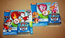 NICKELODEON PAW PATROL MARSHALL & SKYE ACTION PACK PUP & BADGE SETS NEW