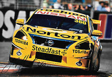 James Moffat SIGNED 12x8 Clipsal 500 Adelaide 360 Motorsport Nissan Altima 2014