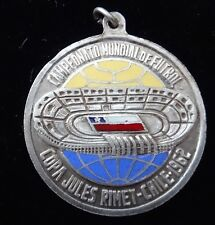 1962 WORLD CUP FUTBOL COPA JULES RIMET RECUERDO DE CHILE COLOR MEDAL VERY RARE