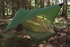 HIGHLANDER TA153 CRUSADER TRAVEL HAMMOCK WITH MOSQUITO NET OLIVE GREEN