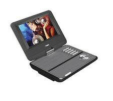 "Naxa NPD-703 7"" TFT LCD Swivel Screen Portable DVD Player with USB/SD/MMC Inputs"