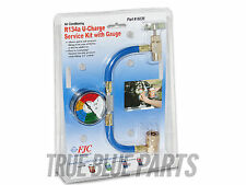 NEW R-134A RECHARGE MEASURING KIT A/C CONDITIONING GAUGE SYSTEM HOSE