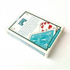 BICYCLE TURQUOISE BACK DECK PLAYING CARDS RIDER BACK USPCC