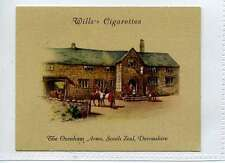 """(Ls232-278) Wills Old Inns, #26, The """"Oxenham Arms"""" Devonshire, 1939, VG"""
