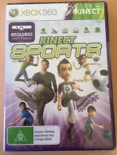 KINECT SPORTS + BONUS DANCE CENTRAL 2 DOWNLOAD CARD - XBOX 360 - *NEW & SEALED*