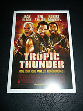 TROPIC THUNDER, film card [Ben Stiller, Jack Black, Robert Downey, Jr.]