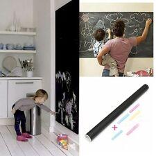 Removable 200x45cm Thicker Blackboard Decal Vinyl Wall Sticker ChalkBoard Art