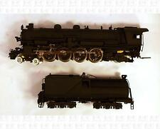 Westside HO SP Southern Pacific MT-5 4-8-2 Steam Locomotive Black Brass