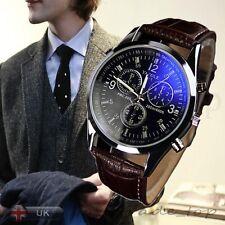 2016 New Luxury Mens Watch Quartz Wrist Watch Casual Wristwatches Blue Ray Glass