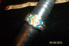 Sterling Silver Religious Cross Ring bikers cross size 7 .5 * 7 grams