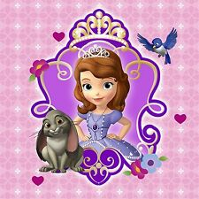 Disney Princess Sofia the first 24 x 36 Poster (pink background)